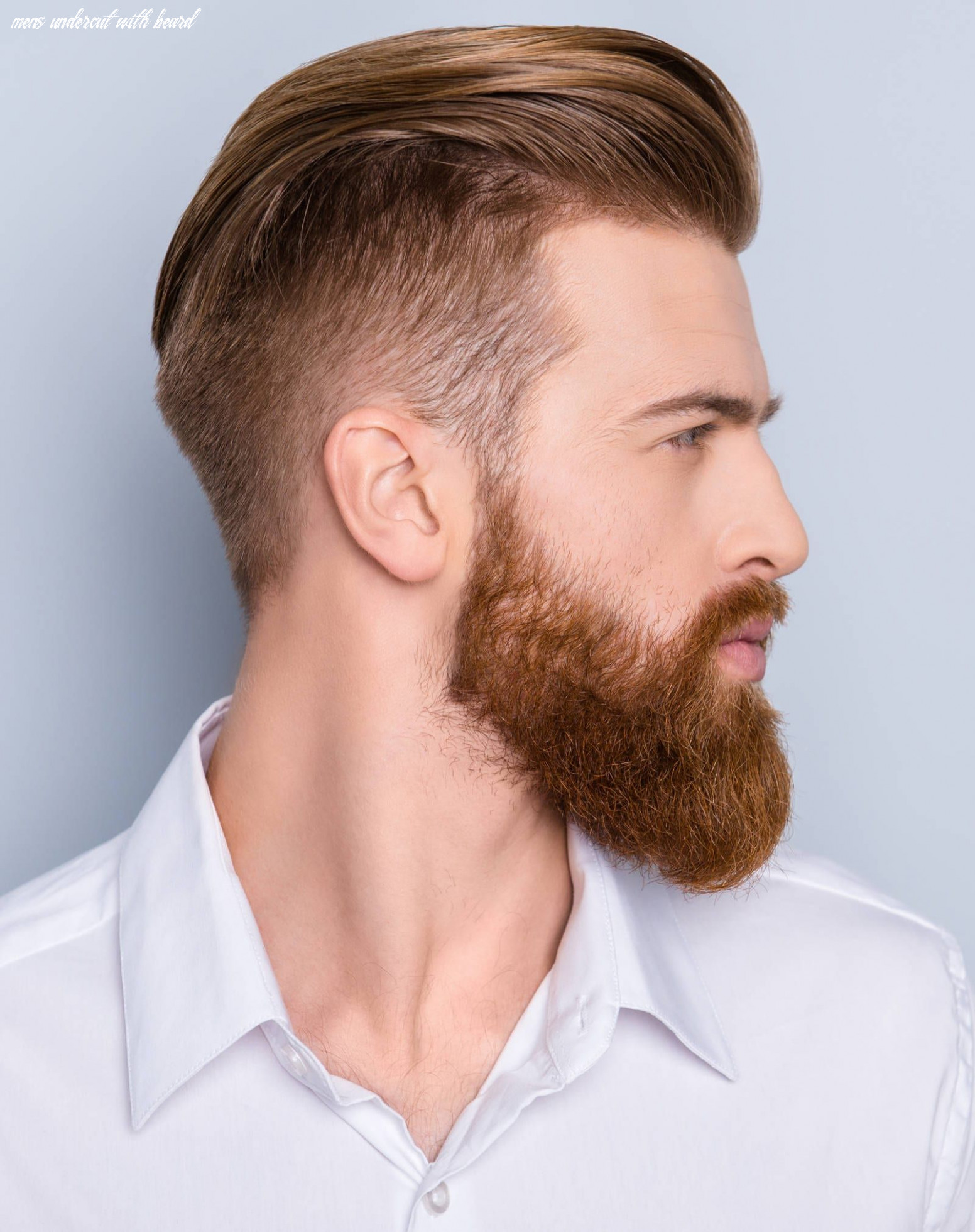 Top 10 hairstyles for men with beards | mens hairstyles undercut