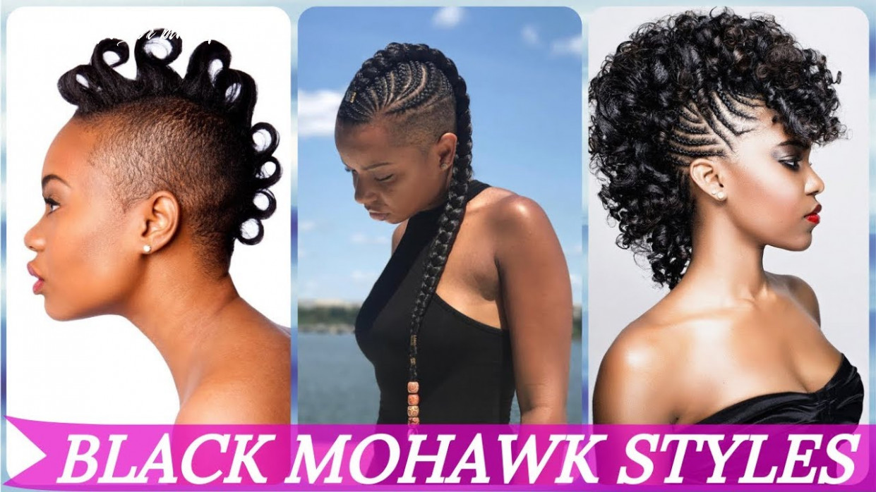 Top 10 🌹 🌹 🌹 mohawk hairstyles for black women 1019 youtube mohawk styles for black females
