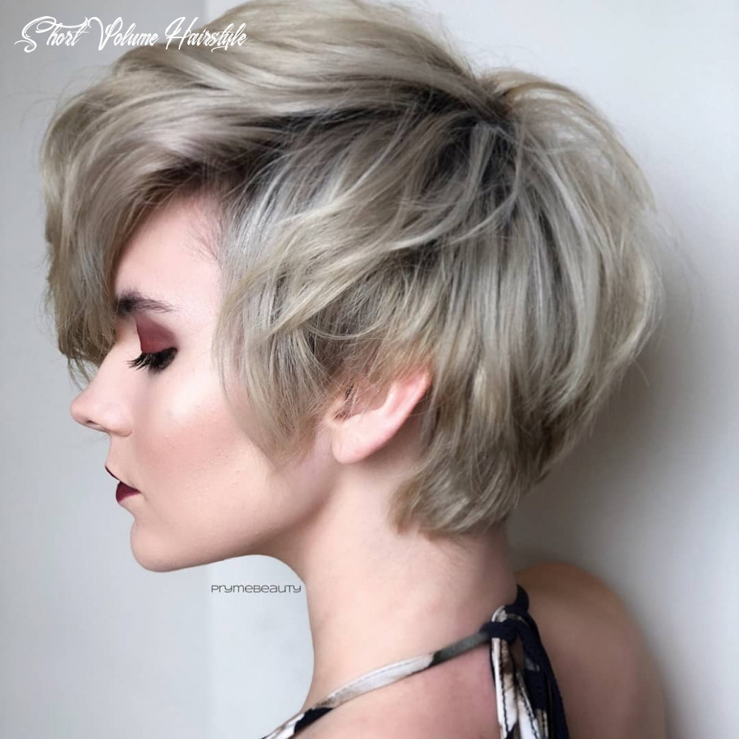 Top 10 trendy, low maintenance short layered hairstyles 10 short volume hairstyle