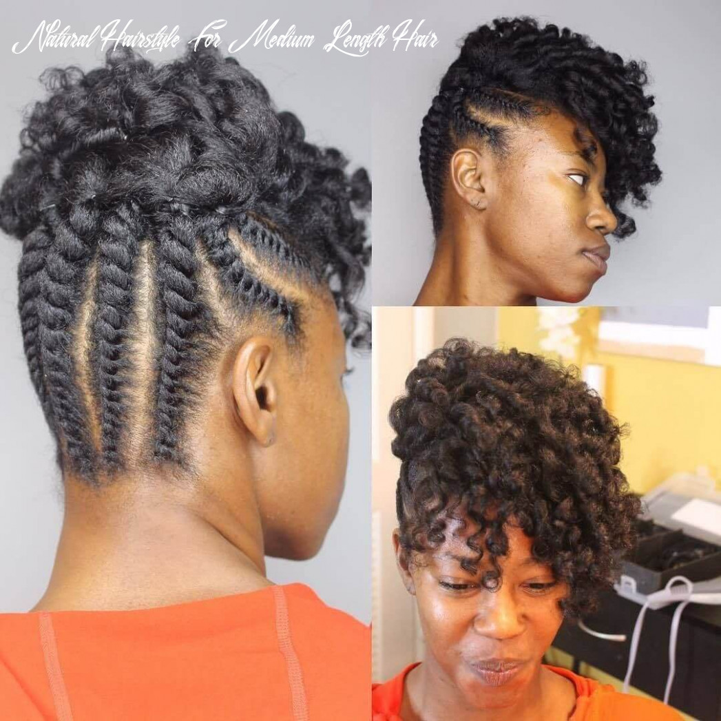 Top 11 black natural hairstyles for medium length hair natural hairstyle for medium length hair
