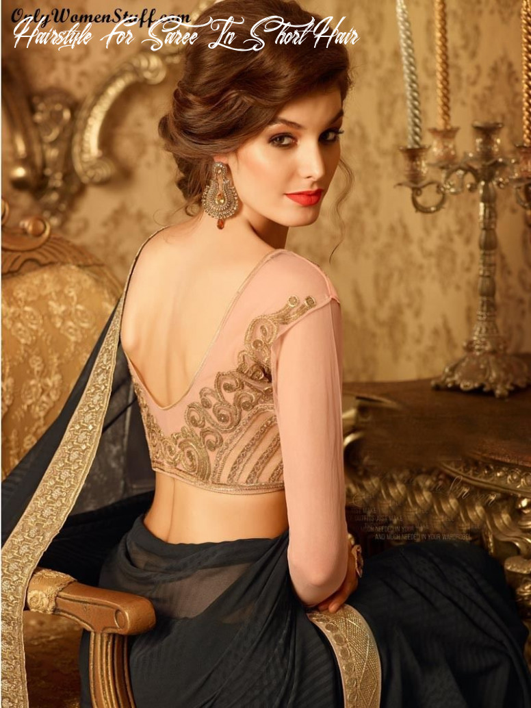Top 11 hairstyles for sarees pictures for all types of face