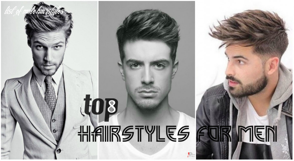 Top 12 best hairstyles for men 20112 designs and haircuts names list of male hairstyles