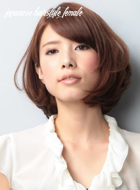 Top 12 japanese haircuts and styles: short, curly and bun japanese hairstyle female