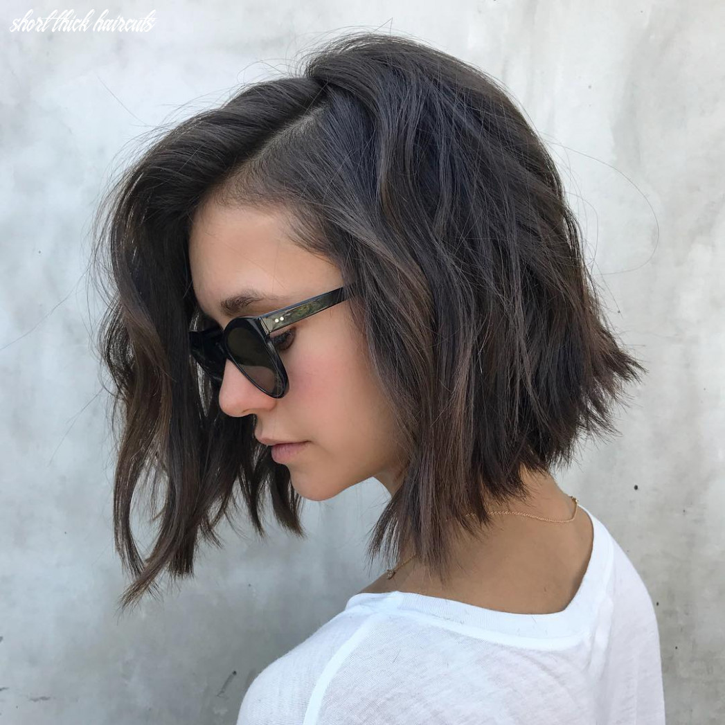 Top 12 low maintenance short bob cuts for thick hair, short