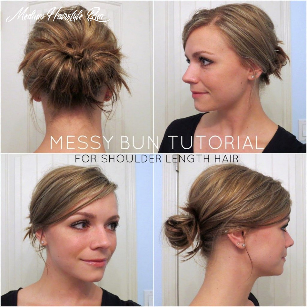 Top 12 messy hair bun tutorials perfect for those lazy mornings