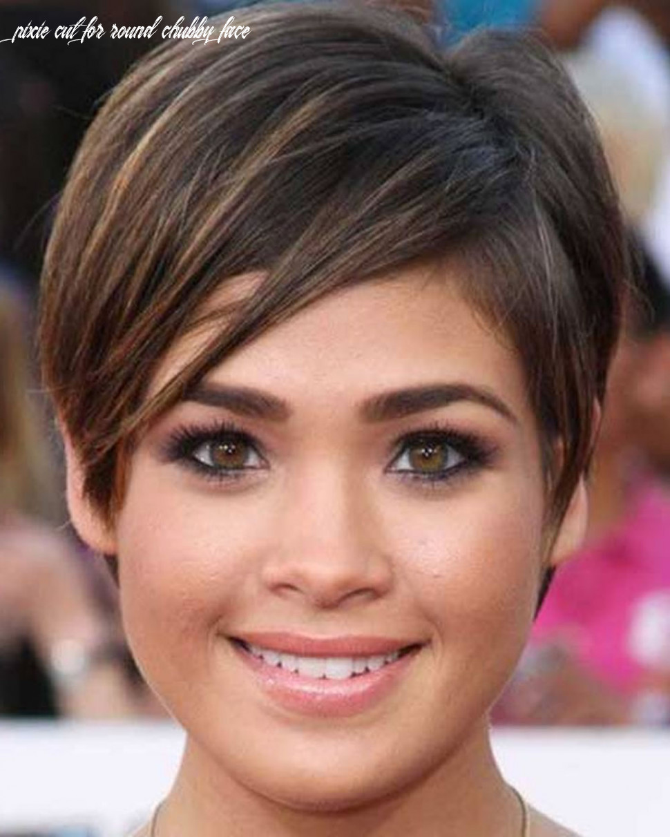 Top 12 pixie hairstyles for round faces pixie cut for round chubby face