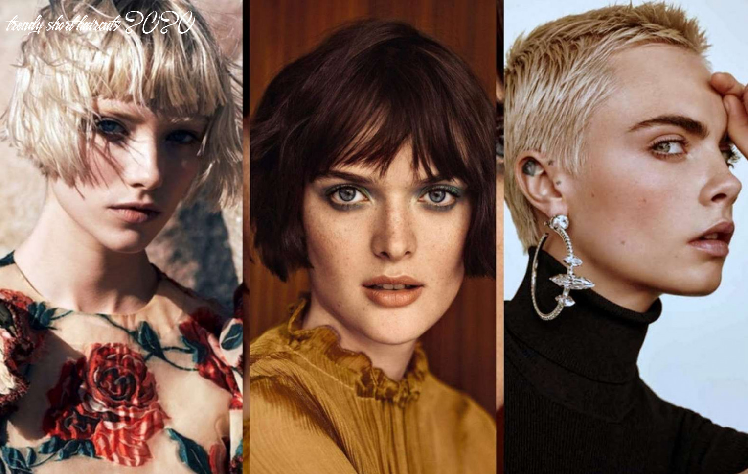 Top 12 short hairstyles and haircuts for women that are in style
