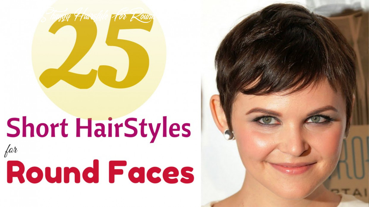 Top 12 short hairstyles for round faces 12 youtube short shaggy hairstyle for round face