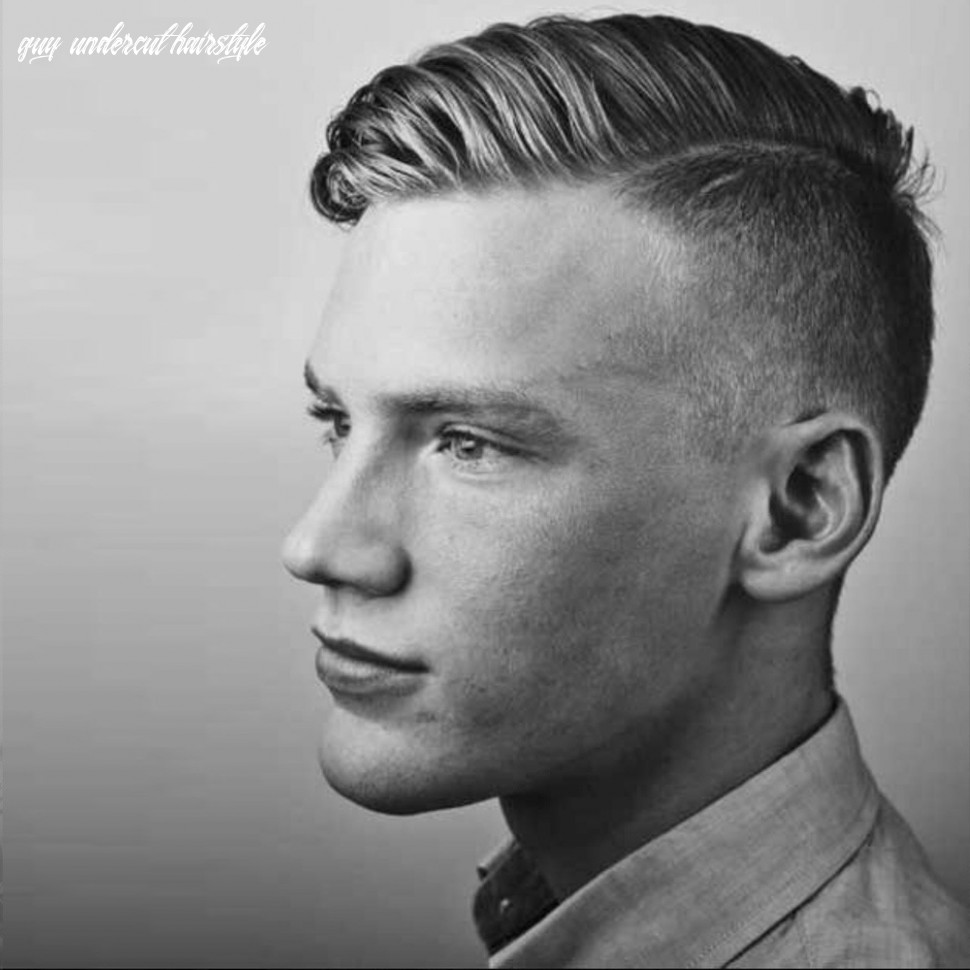 Top 12 Undercut Hairstyles For Modern Gentlemen