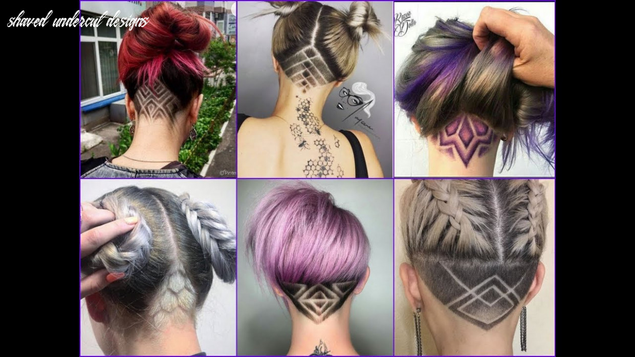 Top 8 best nape undercut design ideas 8 nape shave haircut for women shaved undercut designs