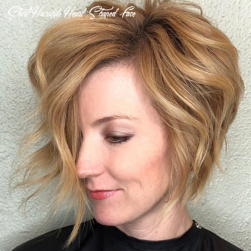 Top 8 haircuts for heart shaped faces of 8 short hairstyle heart shaped face