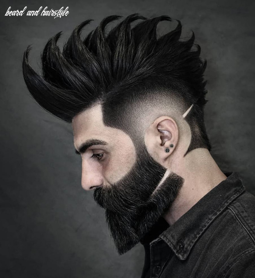Top 8 hairstyles for men with beards beard and hairstyle