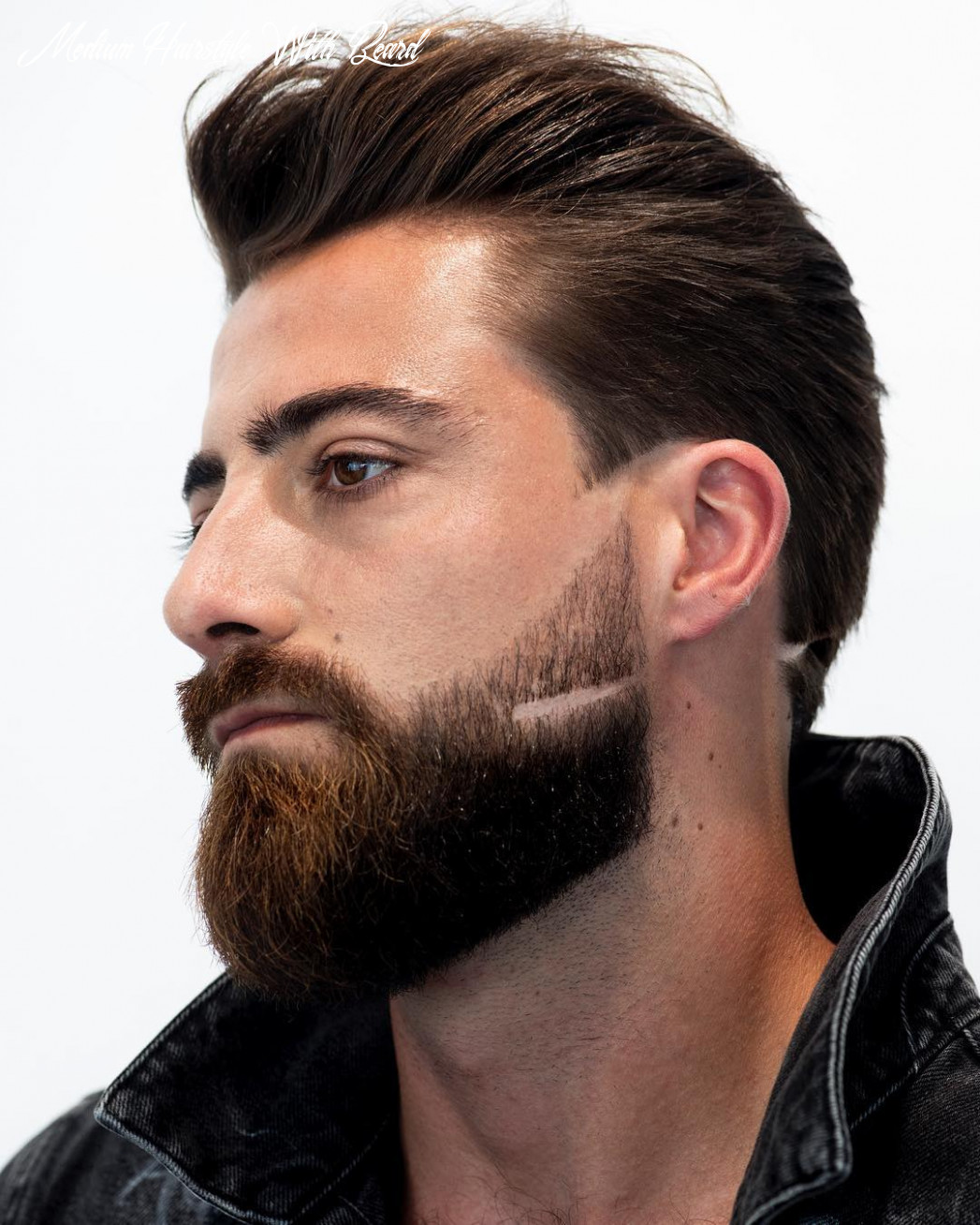 Top 8 hairstyles for men with beards medium hairstyle with beard