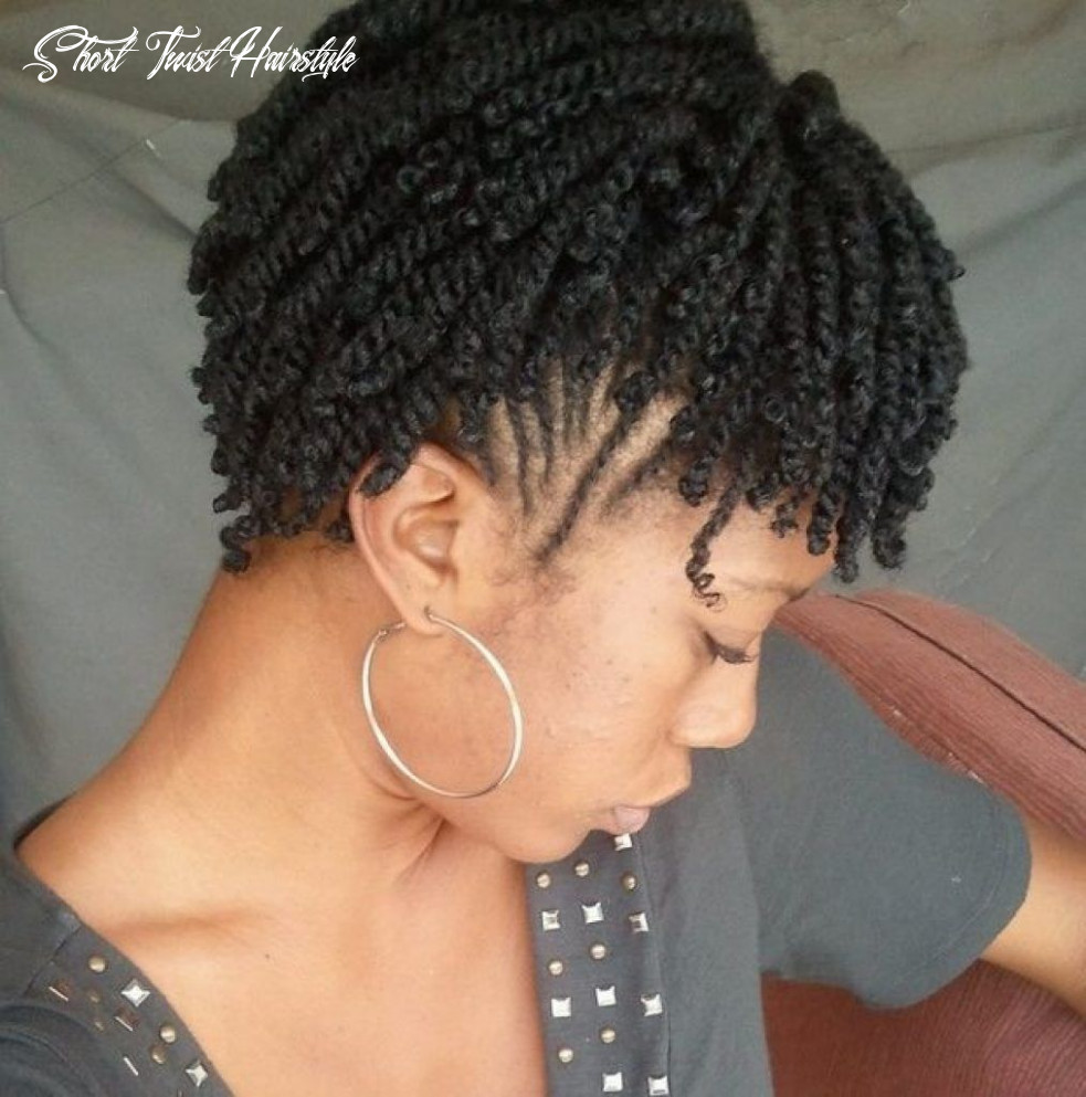 Top 8 hairstyles meant just for short natural twist hair – page