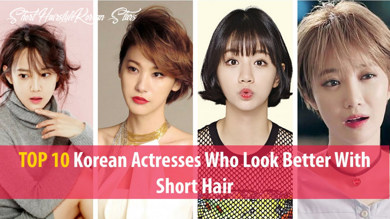 Top 8 korean actresses who look better with short hair short hairstyle korean stars