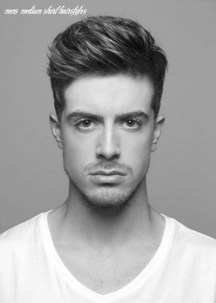 Top 8 Mens Hairstyles Medium Short Length | Medium hair styles ...