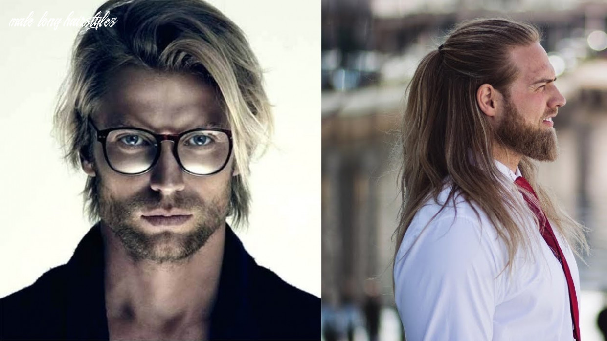 Top 8 stylish long hairstyles for men 8 men with long hairstyles | longer hairstyles video! male long hairstyles