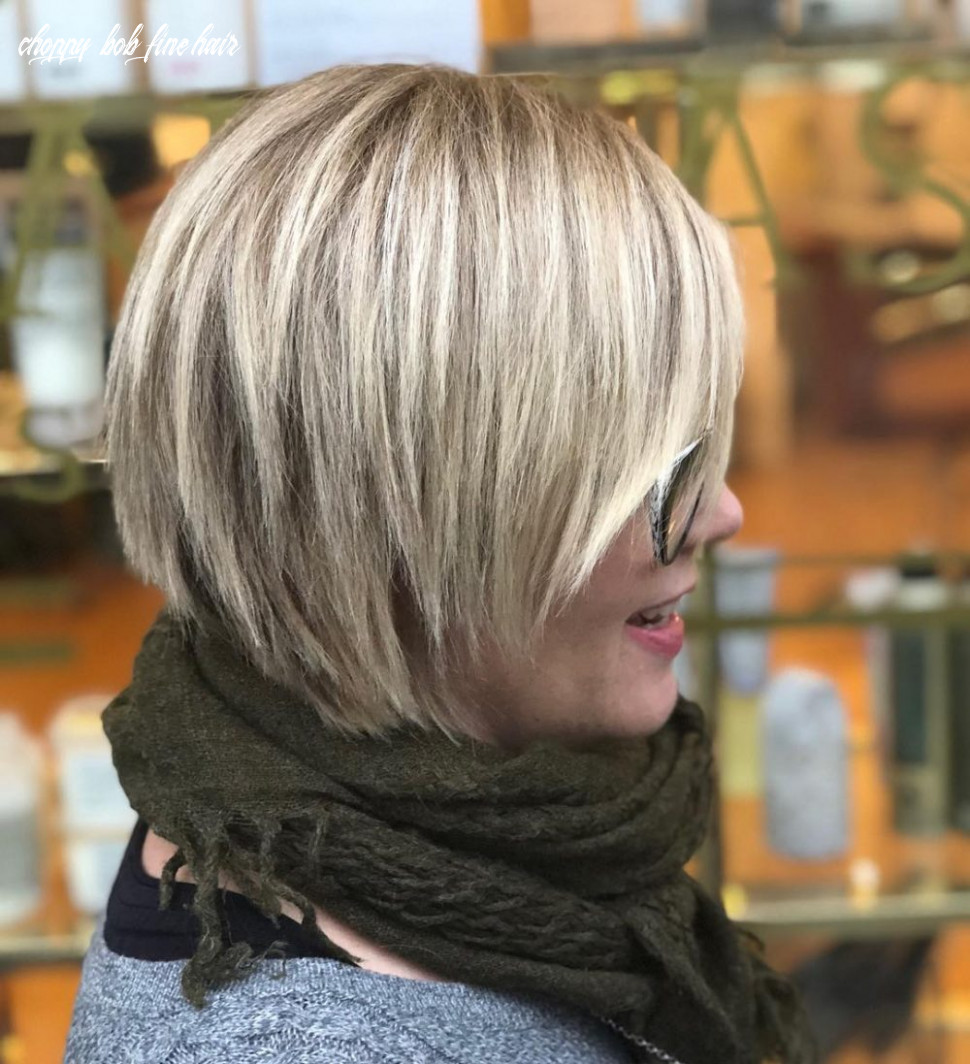 Top 9 choppy bob hairstyles cute textured bobs for 9 choppy bob fine hair