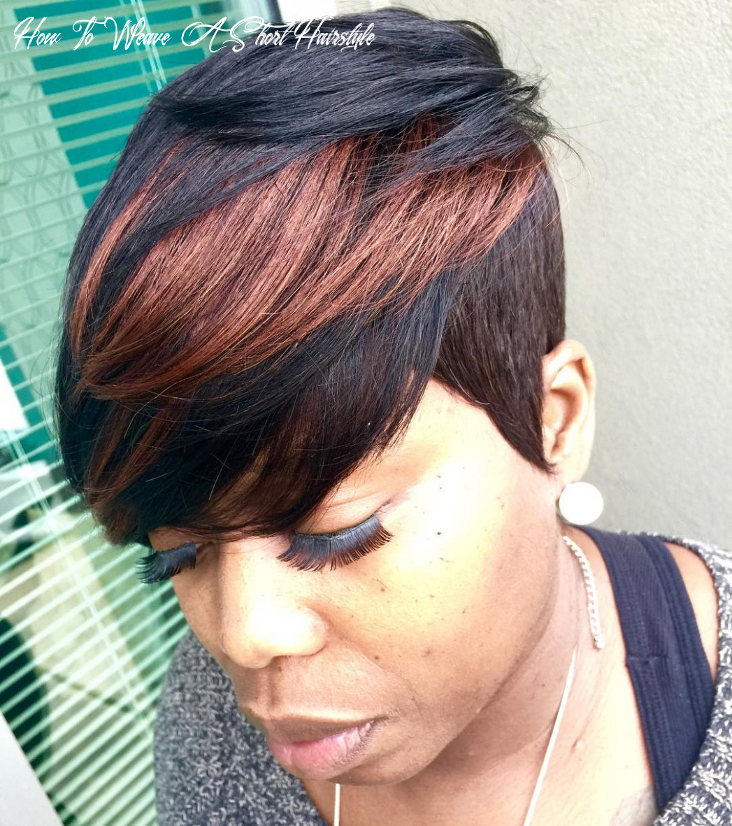 Top 9 short hair quick weave 9 | hair style and color for woman how to weave a short hairstyle