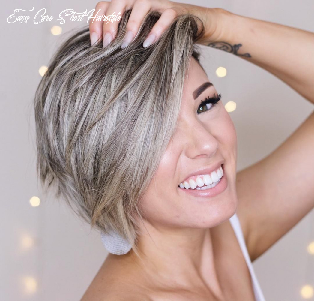 Top 9 trendy, easy care short layered hairstyles | short hair