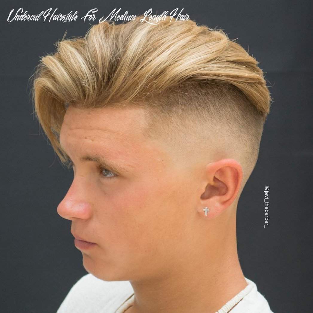 Top 9 undercut haircuts hairstyles for men (9 update) undercut hairstyle for medium length hair