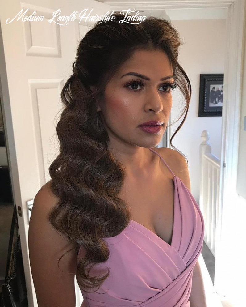 Trending Indian Wedding Hairstyles for Medium Hair You Need to ...