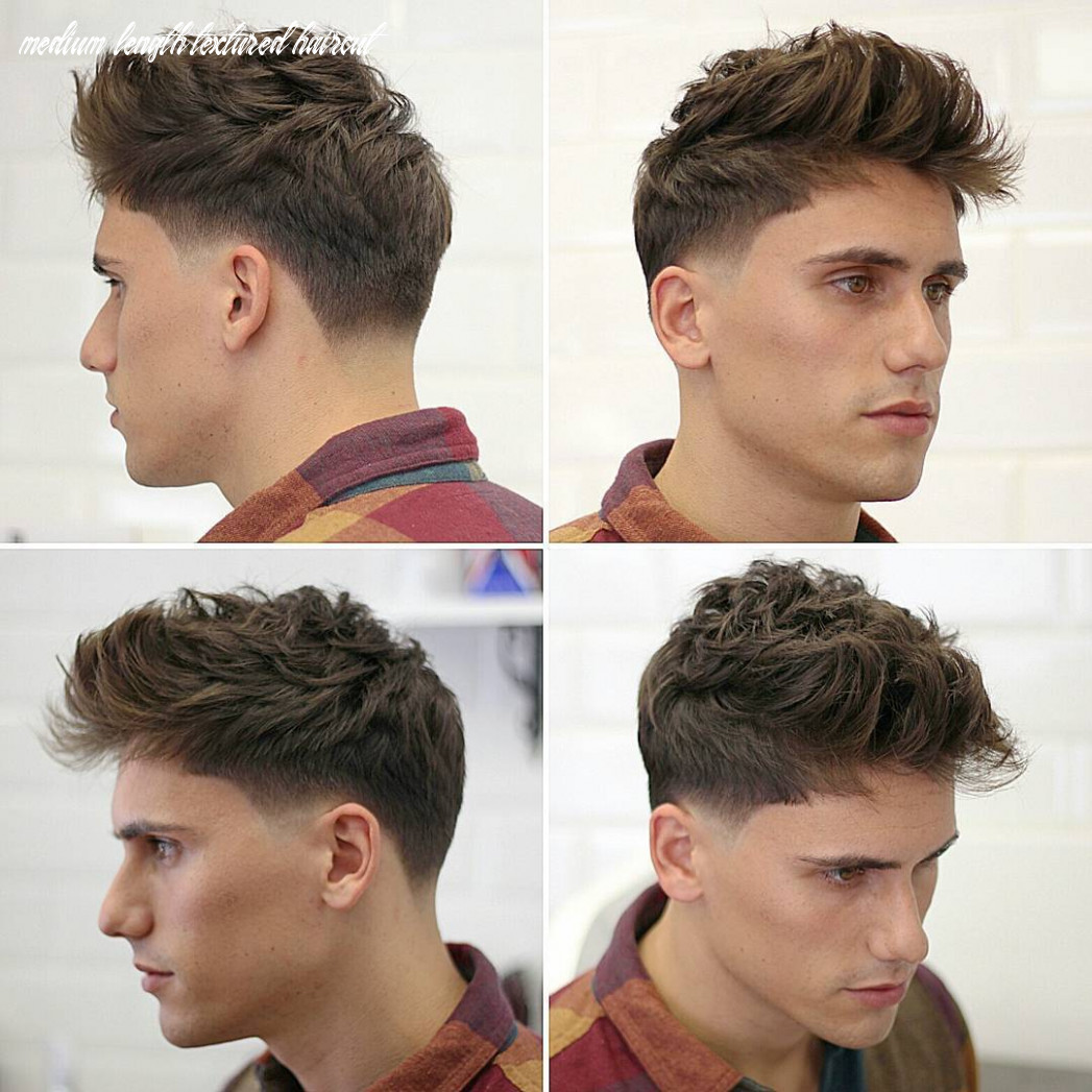 Trending men hairstyles 12 that will rock this year medium length textured haircut