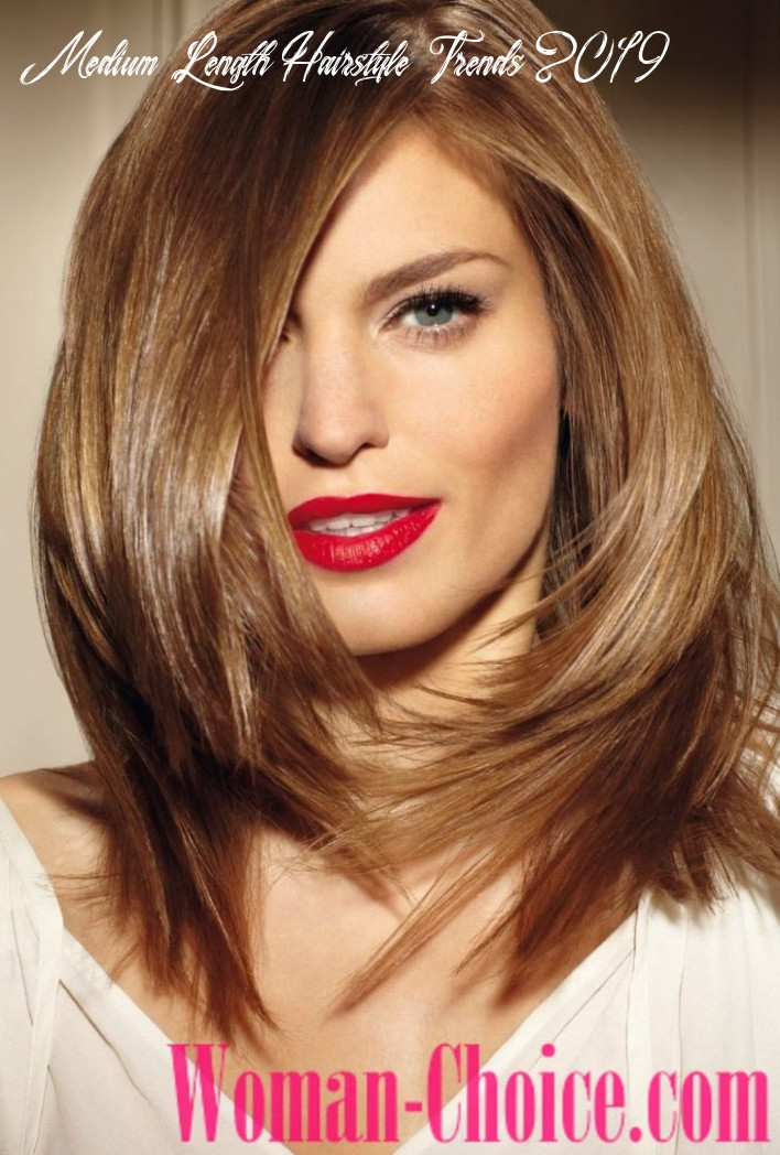 Trendy haircuts for hair of medium length 8 8 photos