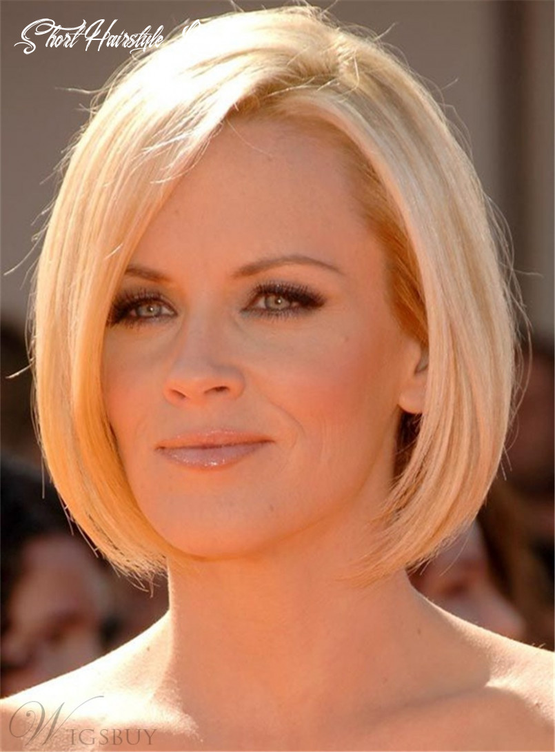 Trendy lob short straight human hairstyle lace front wig 11 inches