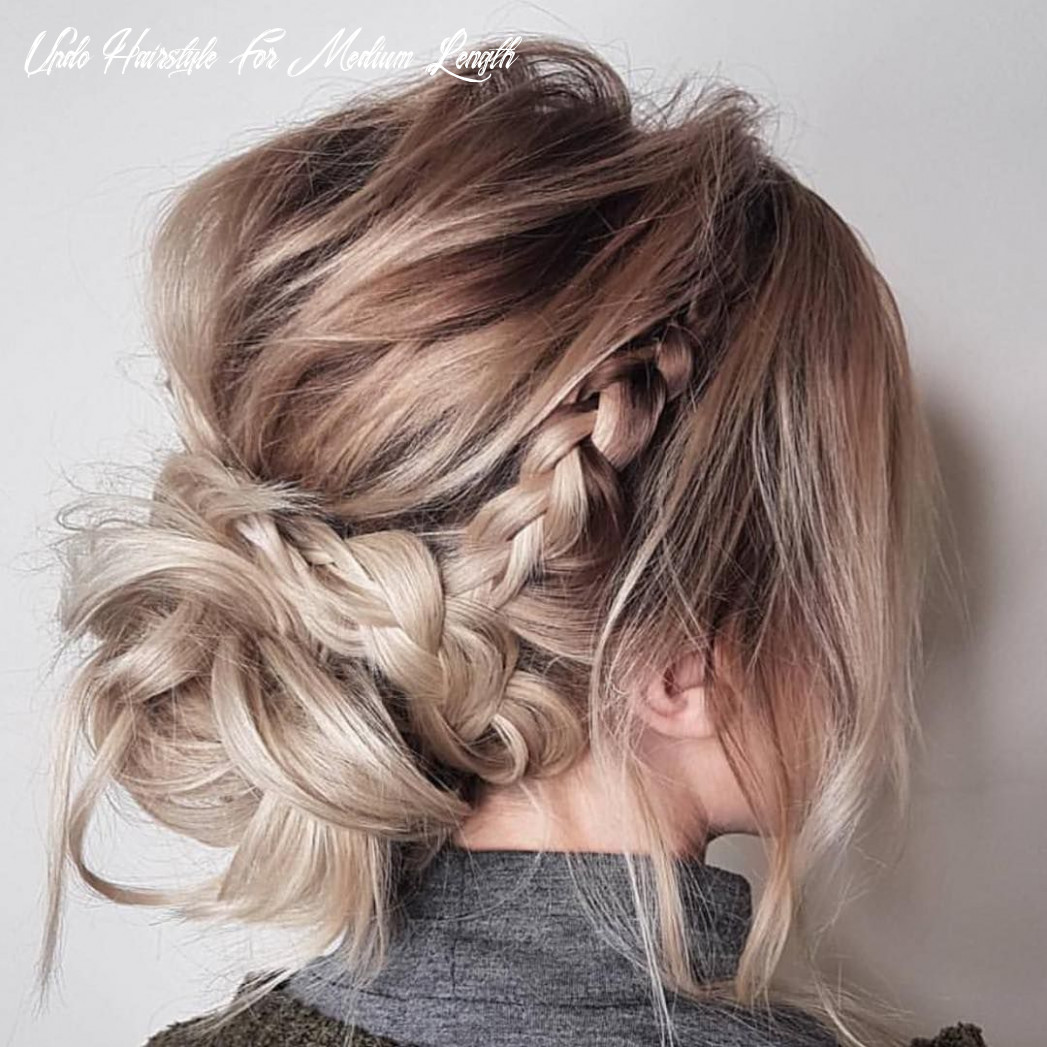 Trendy updos for medium length hair, updo hairstyle ideas   updos