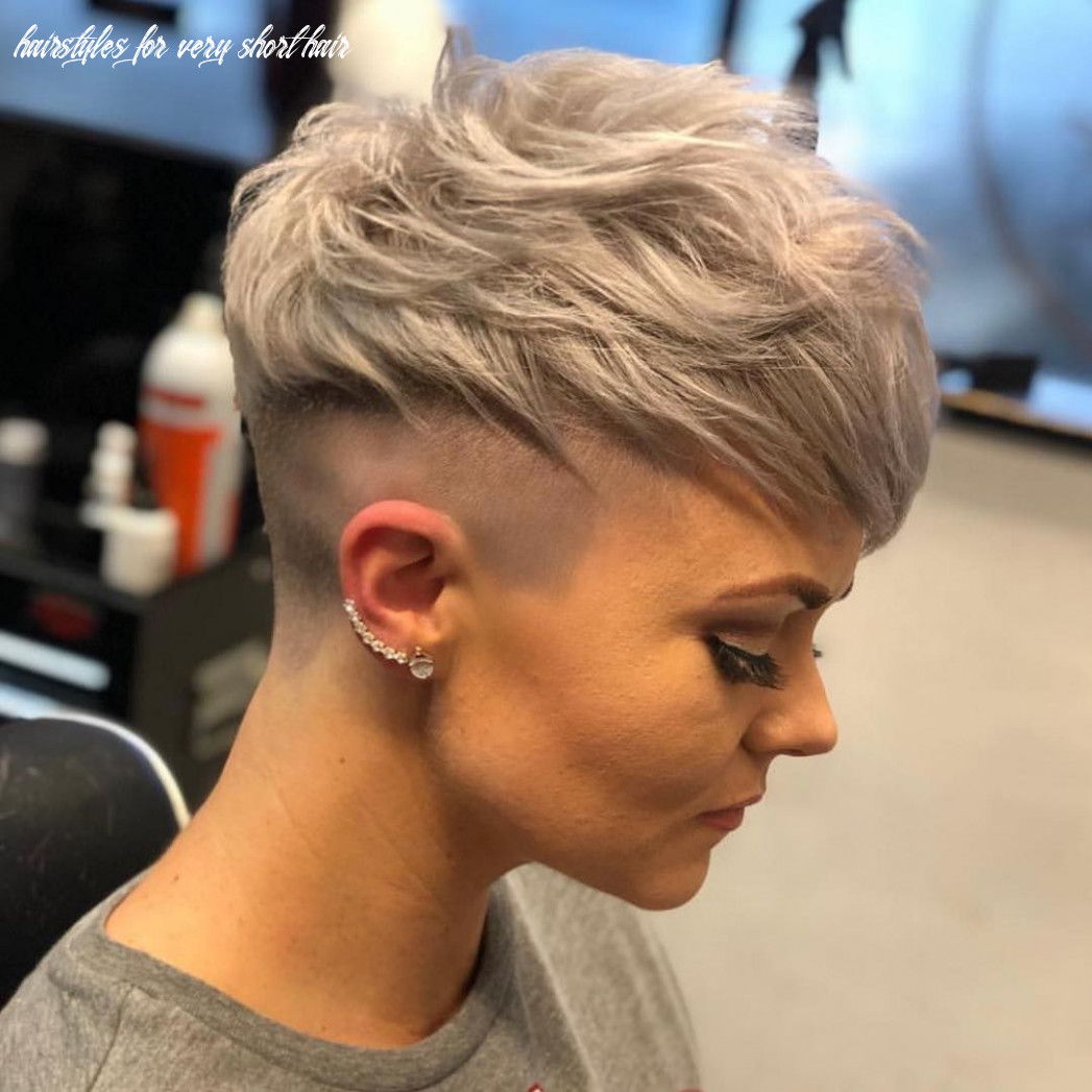 Trendy very short haircuts for women 12 trends in 12