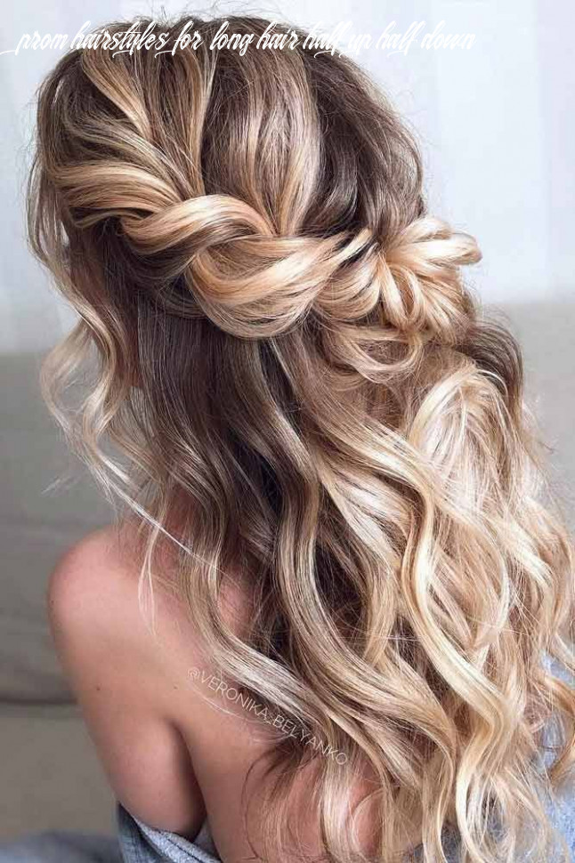 Try 8 half up half down prom hairstyles | prom hairstyles for