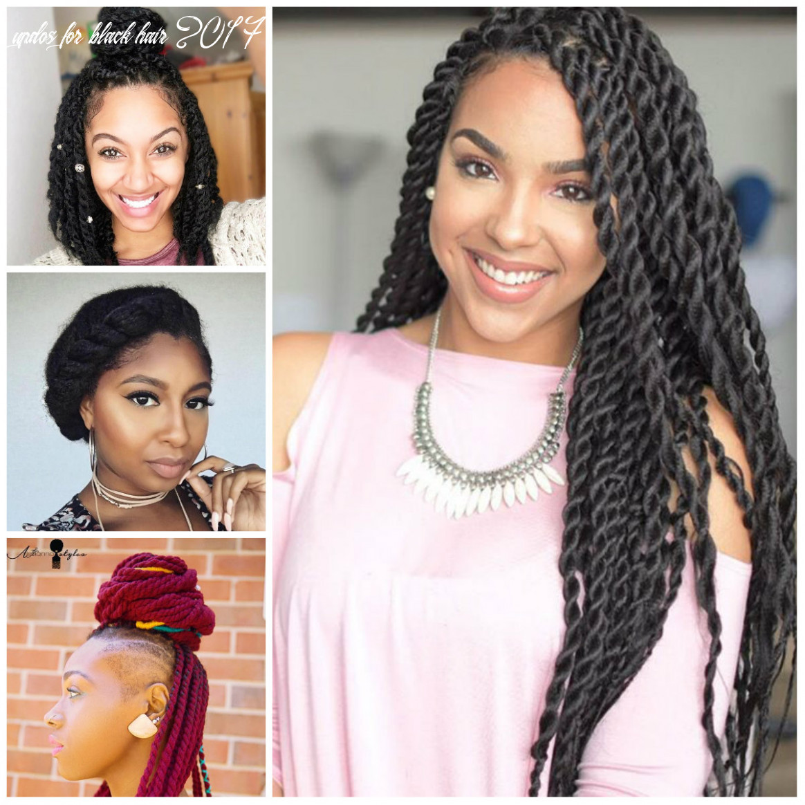 Twisted hairstyles for natural hair for 11 | 11 haircuts