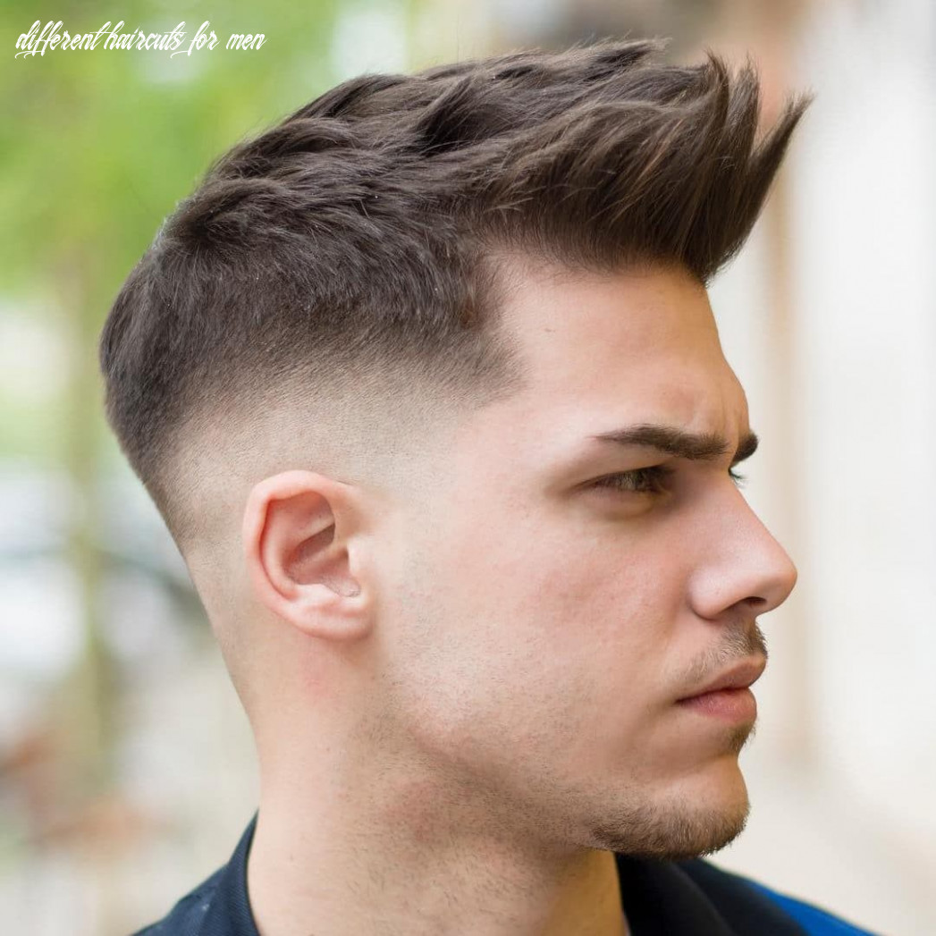 Types of haircuts for men (all styles for 12) different haircuts for men