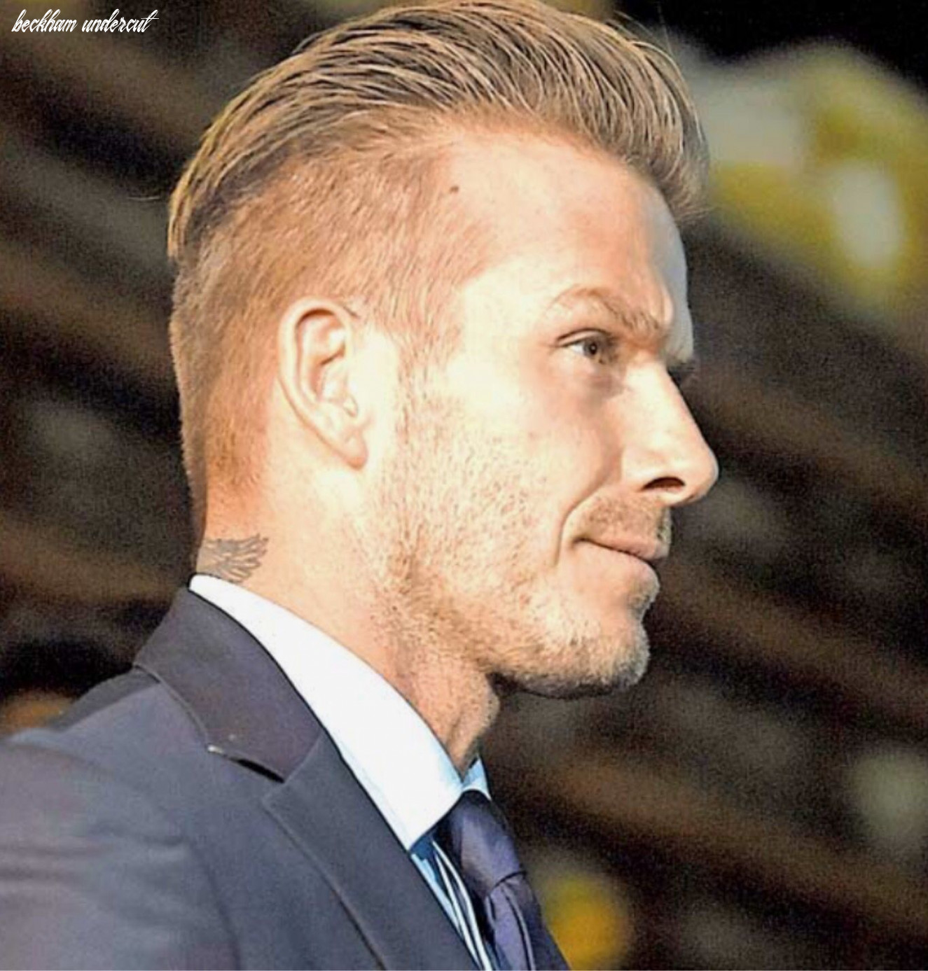 Undercut comb over side and back view | beckham, jungen
