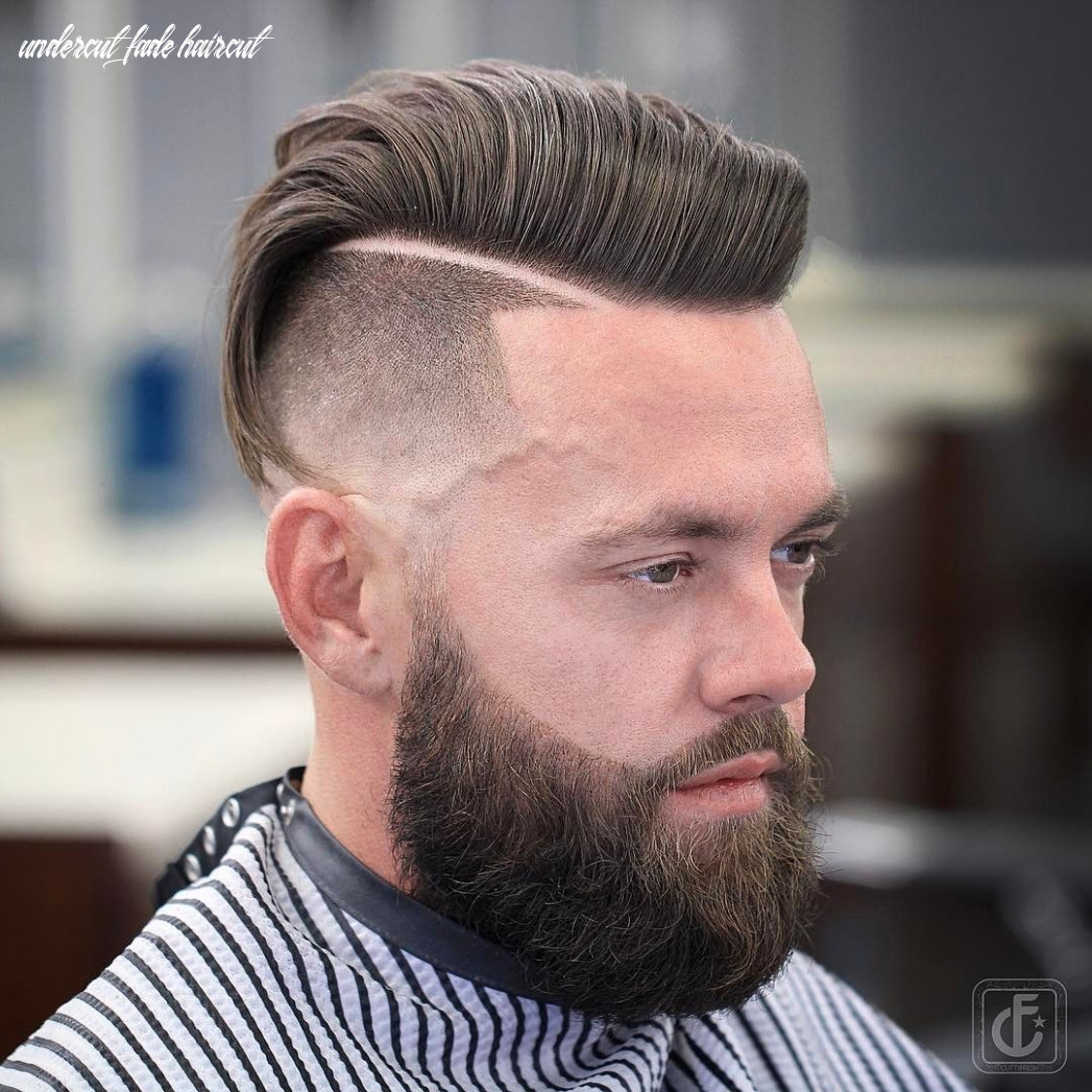 Undercut fade haircuts hairstyles for men (12 styles)   fade