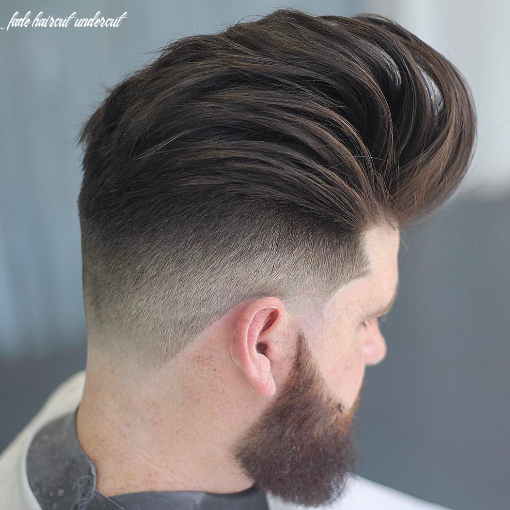 Undercut fade haircuts hairstyles for men (9 styles) fade haircut undercut