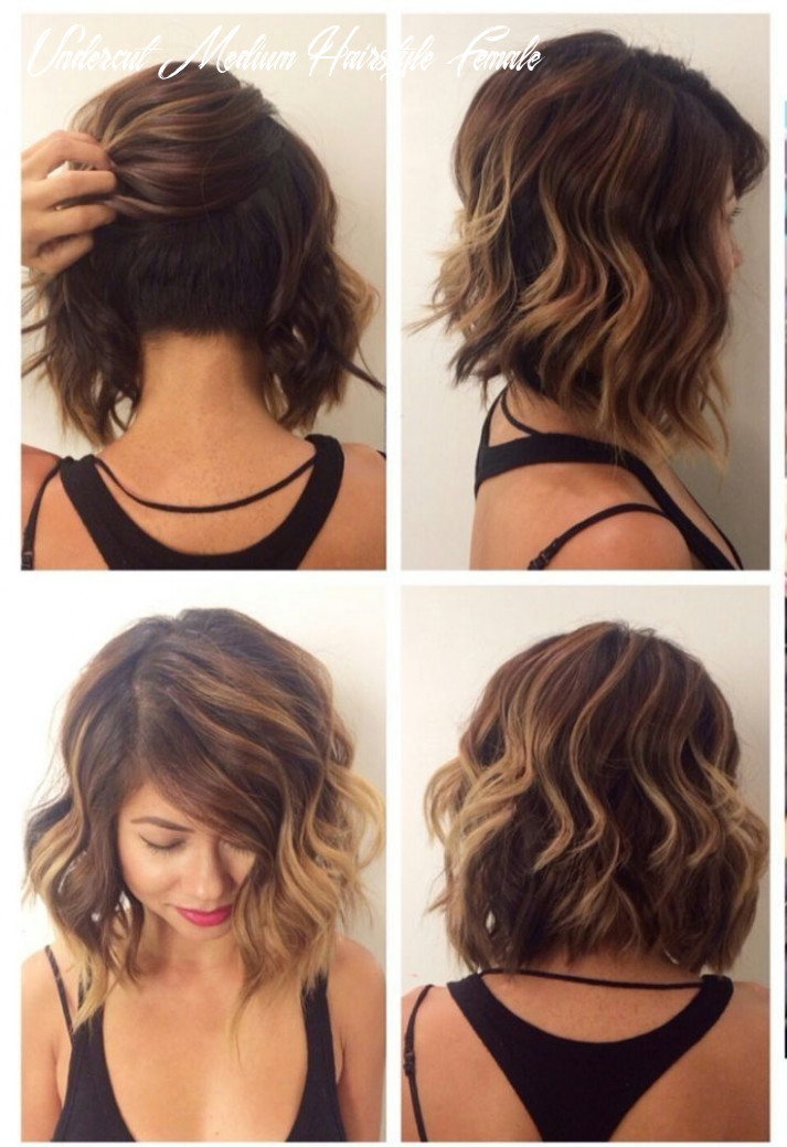 Undercut hairstyle female long hair hairstyles lovely undercut