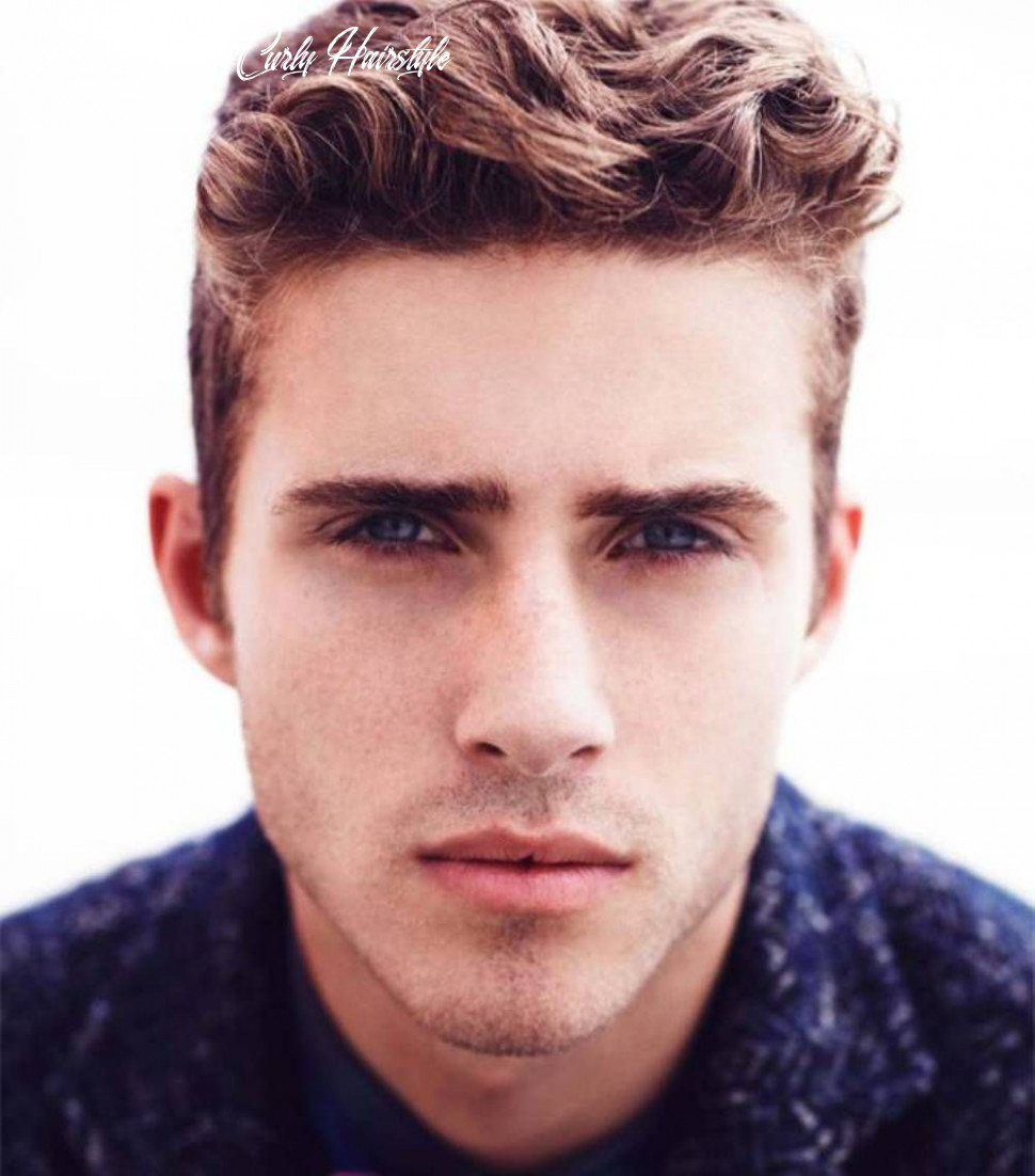 Undercut hairstyle is very cool for man | wavy hair men, mens