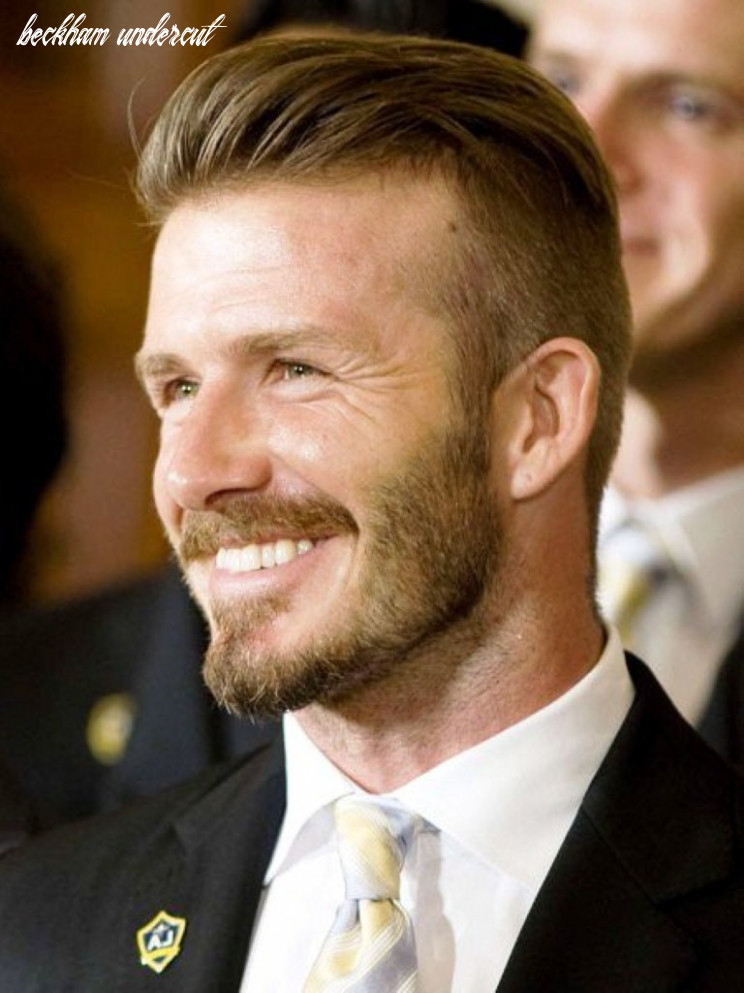 Undercut hairstyles for men like david beckham inspiring mode beckham undercut