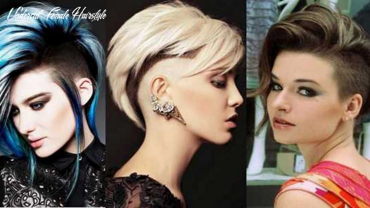 Undercut Hairstyles: That's How The Stars Wear It! [9 9 ...