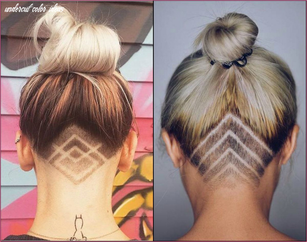 Undercut hinterkopf frauen in 11 | frisuren, frisur ideen