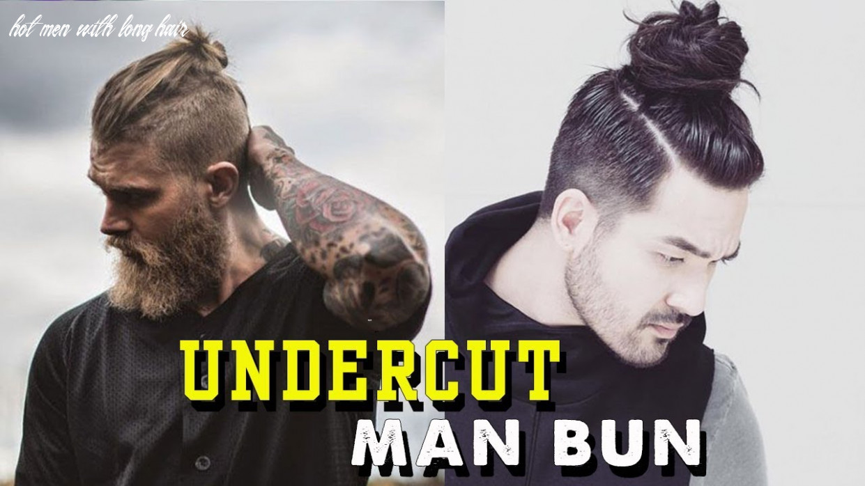 Undercut man bun hot long hair undercut for men | beautiful