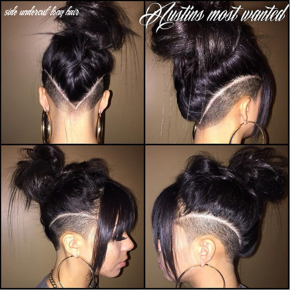 Undercut Over the Ear | Hair styles, Shaved side hairstyles ...
