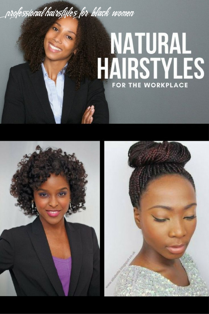 Unique and easy professional natural hairstyles for work | natural
