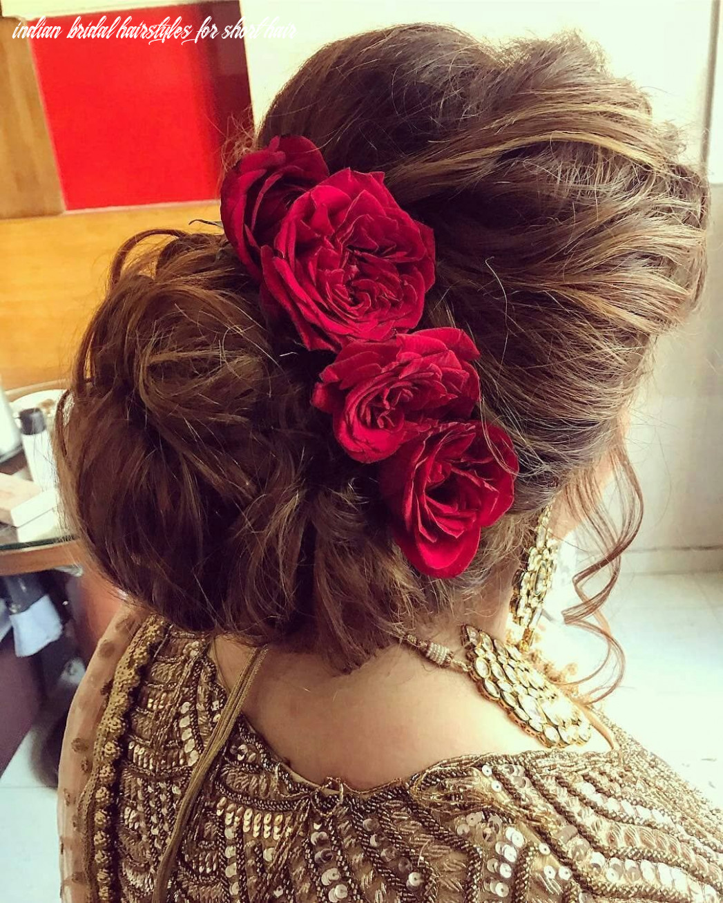 Unique bridal hairstyle ideas for short hair that trending this