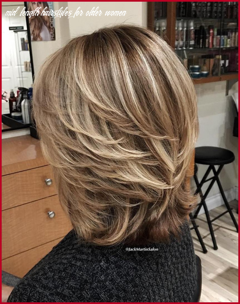 Unique medium length hairstyles for older women collection of