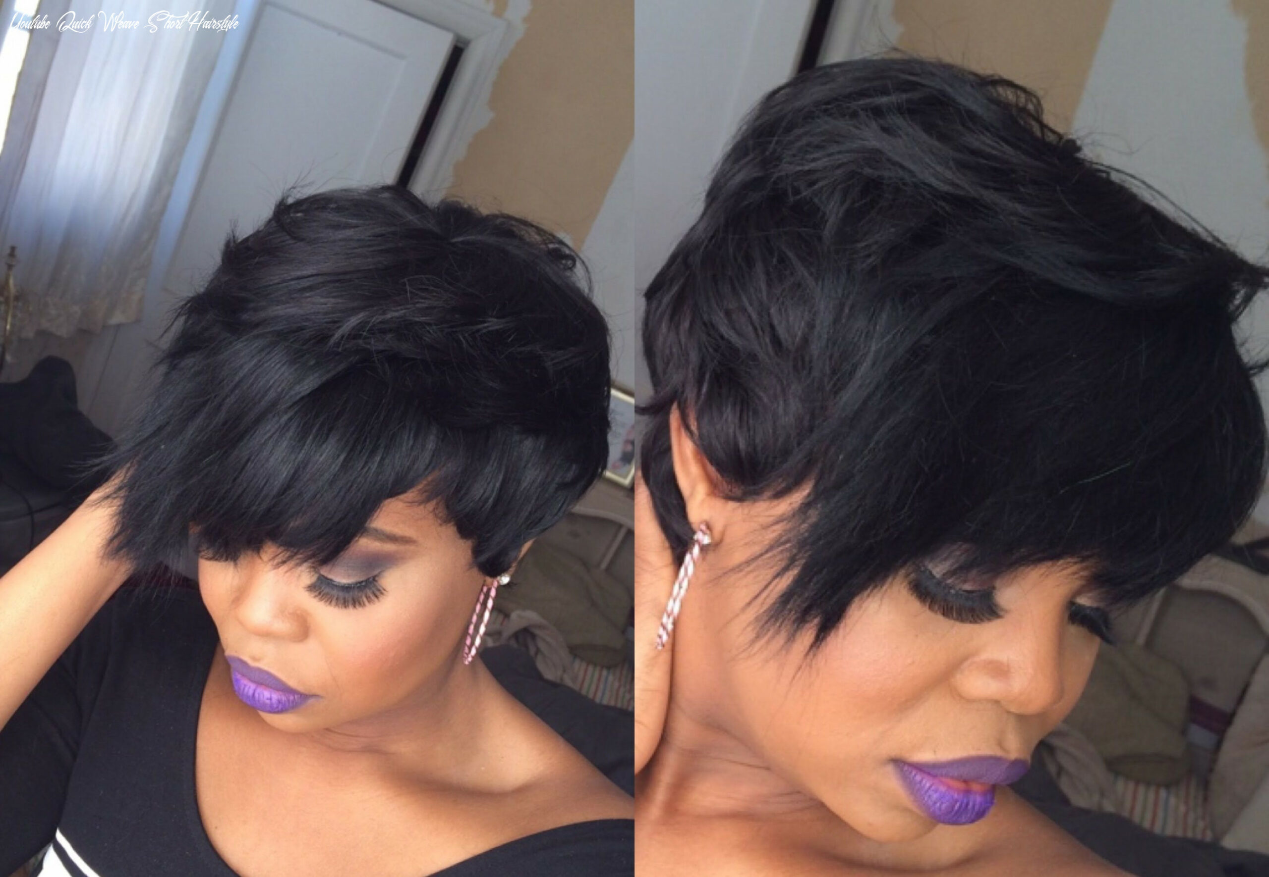 Unique quick weave hairstyles youtube | weave hairstyles, quick