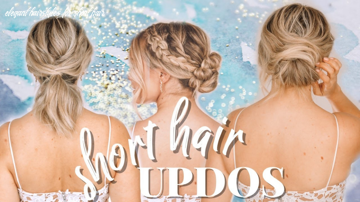 Updo hairstyles for short hair kayley melissa elegant hairstyles for short hair