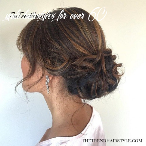 Updo with fringe bangs 10 easy updo hairstyles for medium length